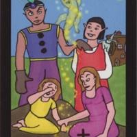 Death card (Tarot of Innocence, full color version)