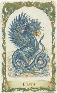 Death card, Mythical Creatures Tarot, Standard Edition